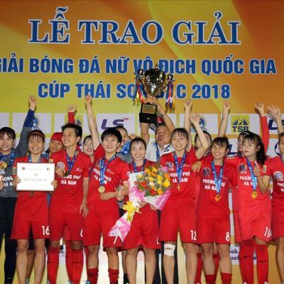 """Giải nữ VĐQG - Cúp Thái Sơn Bắc 2019: Khốc liệt cuộc đua tranh """"ngôi Hậu"""""""