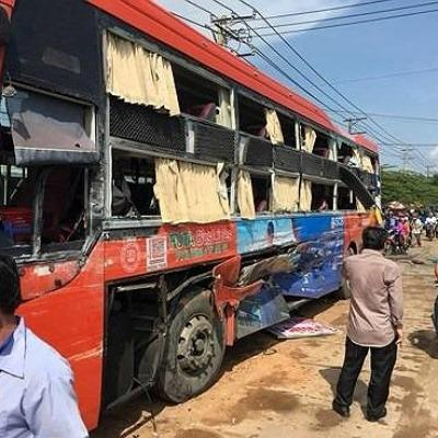 Hành khách bị tai nạn cưa mất 1 chân khởi kiện nhà xe